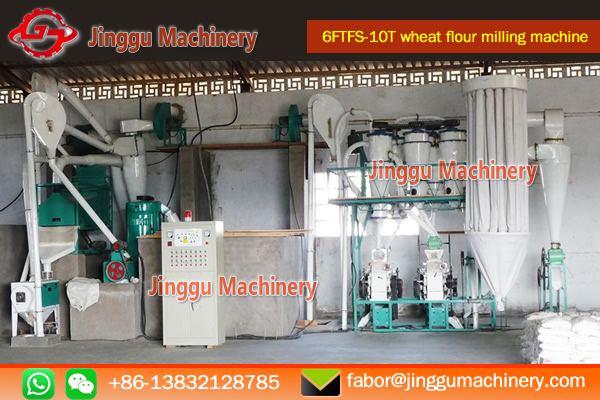 10T wheat flour milling machine price | small scale wheat flour milling machine