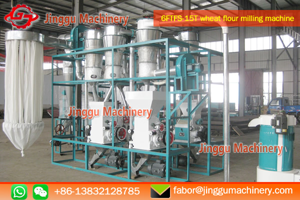 15T wheat flour milling machine for sale | wheat flour machine with price
