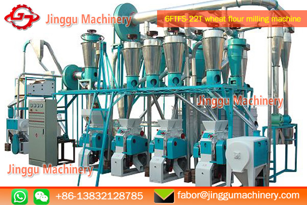 22T wheat flour milling plant with plansifter | advanced technology of wheat flour milling plant