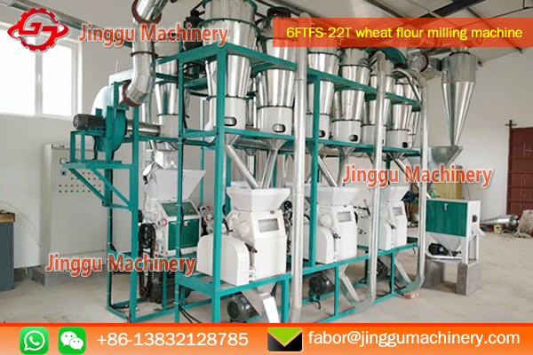 26T wheat flour processing plant | Jinggu wheat flour processing plant