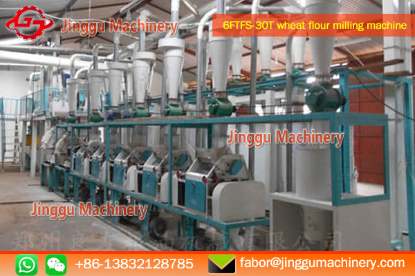 30T wheat flour processing plant | wheat processing plant with  proven technique