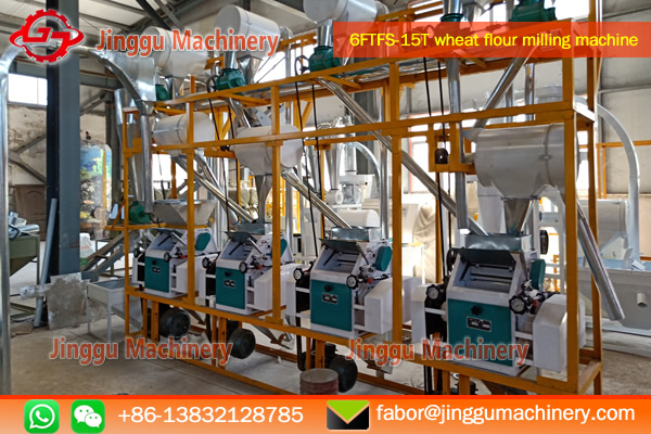 15T wheat flour processing plant | wheat processing plant