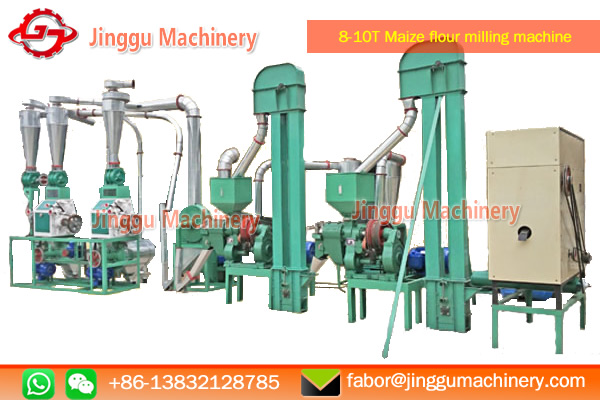 8-10T maize flour/grits milling machine | small scale maize milling machine