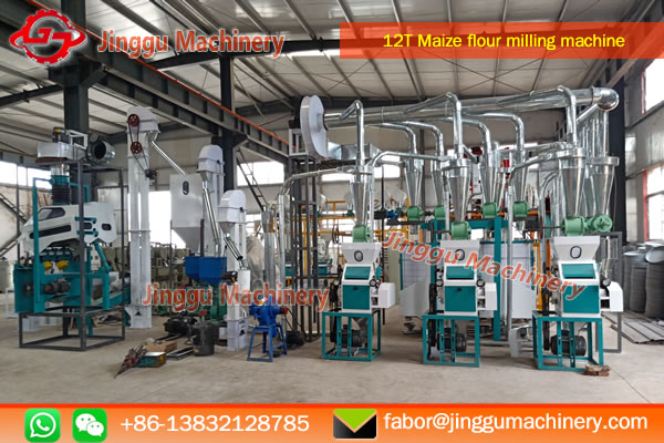 15T Corn milling machine with price | corn flour milling machine