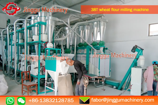 38t wheat flour milling machine price | wheat flour processing plant