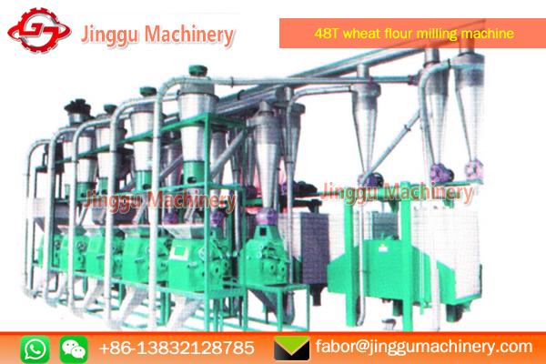 48T wheat flour milling plant for sale | best quality wheat flour milling machine