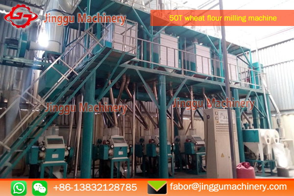 50T wheat flour milling machine with price | wheat processing plant