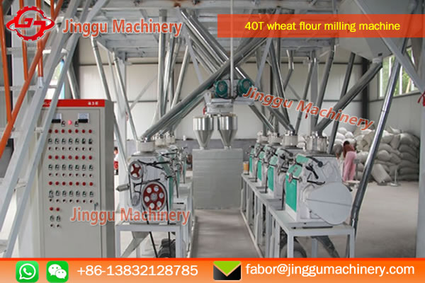 40T wheat flour milling machine with plansifter | high configuration wheat flour milling machine