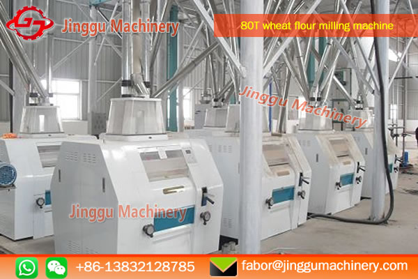 80T wheat flour milling machine | The manufacturer of 80T wheat flour milling machine