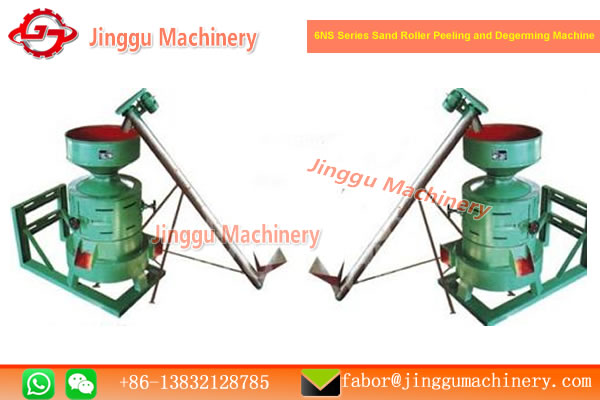 6NS Series Sand Roller Peeling and Degerming Machine
