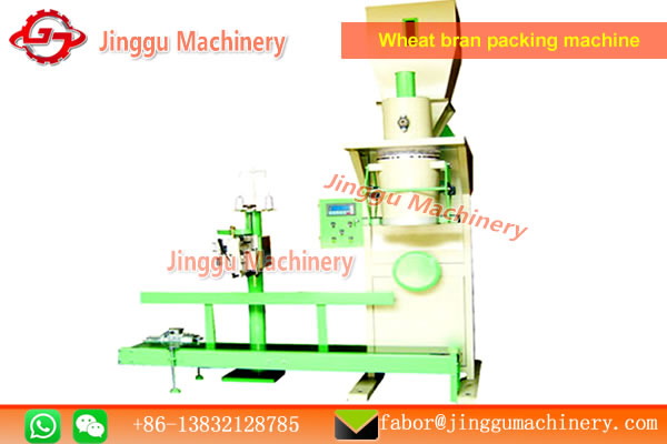Wheat bran packing machine