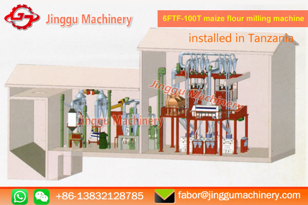100t corn milling equipment supplier | electric corn mill machine | corn miiling plant for sale