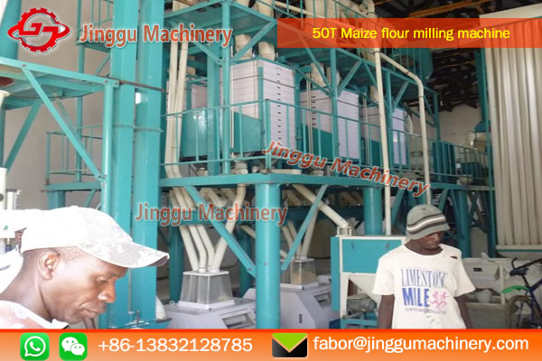 Zambia project of Corn milling machine in 2017 With good preference